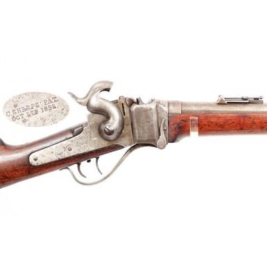 Berdan Sharps Rifle & Bayonet