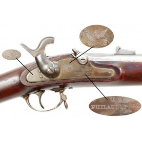Extremely Rare Philadelphia US M-1861 Contract Musket