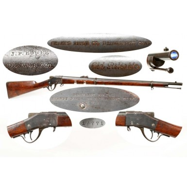 Denver Retailer Marked Sharps-Borchardt Rifle
