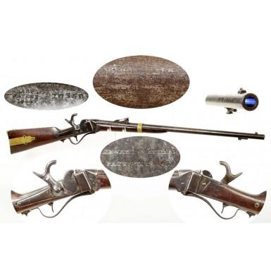 Sharps M-1855 Navy Rifle - Very Scarce