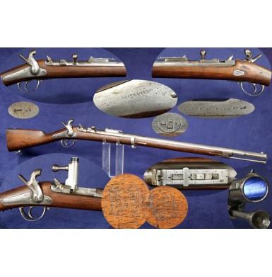 Belgian M1853/71 Merckelbagh Bolt Action Trapdoor