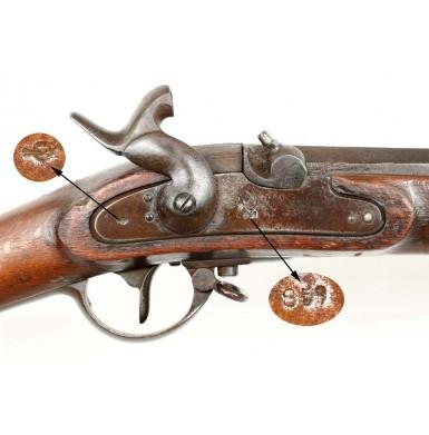 Austrian M1854 Lorenz - ID'd to a Galvanized Yankee