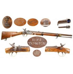Confederate Marked P1853 Artillery Carbine