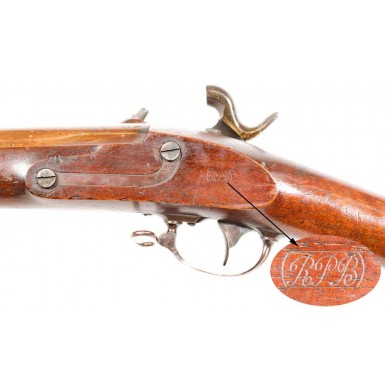 Browned US M1851 Cadet Musket Dated 1851
