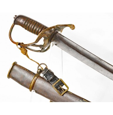 Nashville Plow Works Cavalry Officer's Sword - Attic & Untouched