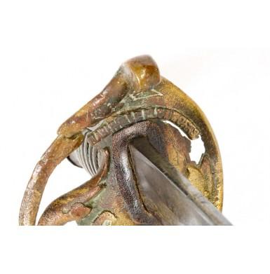 Nashville Plow Works Cavalry Officer's Sword - Attic & Untouched