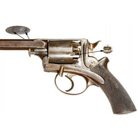 Rare Beaumont Adams M1854 .50 Caliber Dragoon Revolver