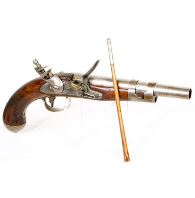 Rare US Model 1813 Army Pistol by North