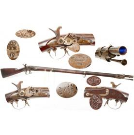Rare Nippes Maynard Alteration of a US M1840 Flintlock Musket