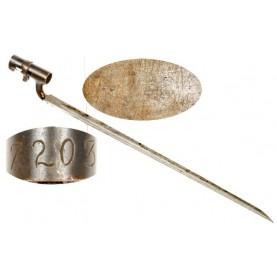 Confederate Numbered P1853 Enfield Socket Bayonet