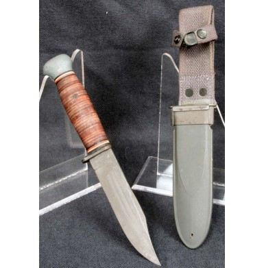 USN Mark 1 PAL 35 Combat Knife - About Excellent