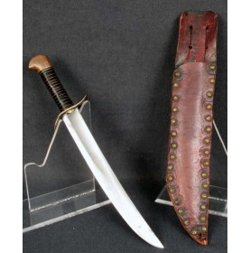 WWII Theater Knife from Civil War Naval Cutlass