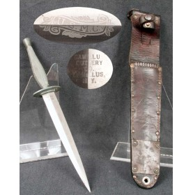 Marine Corps Raider Stiletto with Fantastic Etched Panel