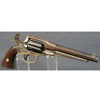 Fluted Remington-Rider Double Action Belt Revolver - SCARCE