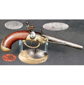 French M-1777 Flintlock Cavalry Pistol