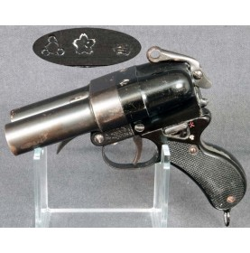 Japanese Type 90 Double Barrel Naval Signal Pistol