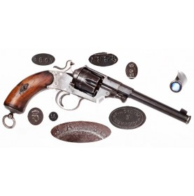 Fine M-1879 Reichsrevolver with WWI Unit Markings
