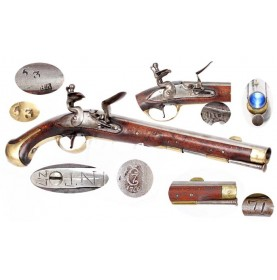 Danish M-1772 Flintlock Dragoon Pistol - FINE