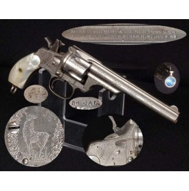 Factory Engraved Merwin & Hulbert DA .38 Revolver - Simply Wonderful