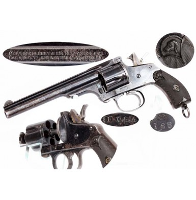 Merwin, Hulbert & Co DA Automatic Revolver - Blued