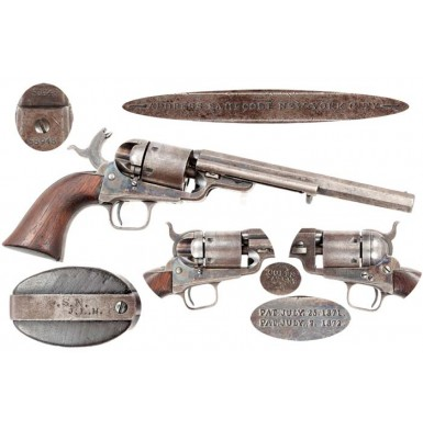 Colt M-1851 Navy-Navy Richards-Mason Conversion