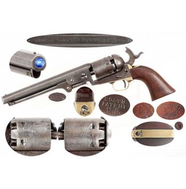 Colt M-1851 Martially Marked Navy Revolver