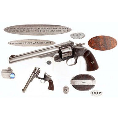 1st Model Schofield Revolver - About Fine
