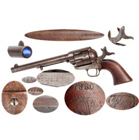 Colt Single Action Army Cavalry Revolver - DFC Inspected