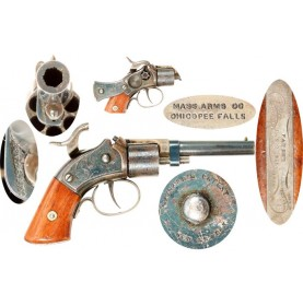 Massachusetts Arms Tape Primed Pocket Revolver