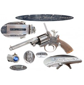 Adams Patent Revolver - Rigby Retailer Marked