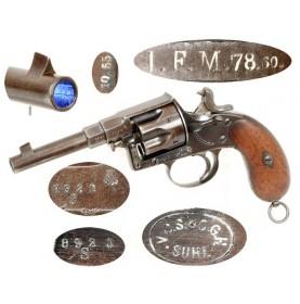 German M83 Ordnance (Reichs) Revolvers - Saxon Unit Marked