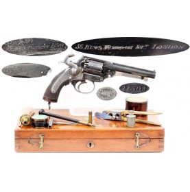 Cased & Engraved Kerr Revolver - Outstanding!
