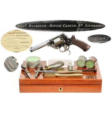 2nd Model Tranter Revolver - Fully Cased