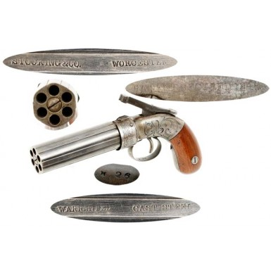 Stocking & Co Pepperbox - Scarce