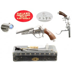 Cased Galand Revolver - Very Fine