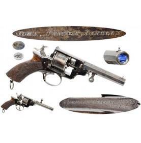 Thomas' Patent Revolver - Rare