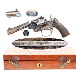 Cased Tranter-Kynoch M-1879 Revolver