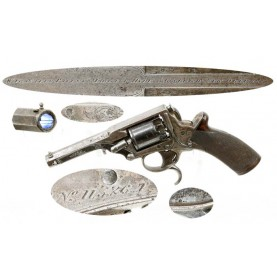 Hyde & Goodrich Retailer Marked Tranter Pocket Revolver