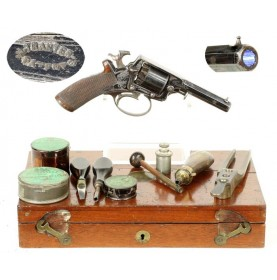 4th Model Tranter Pocket Revolver - Fully Cased