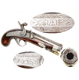 Nashville Made Derringer Marked Kirkman & Ellis