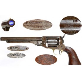 Martially Marked Whitney Navy Revolver