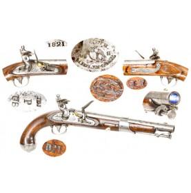 US Model 1819 Flintlock Pistol