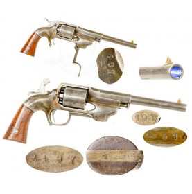 Allen & Wheelock Center Hammer Army Revolver