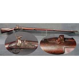 Confederate Altered Charleville Musket by Baker of North Carolina