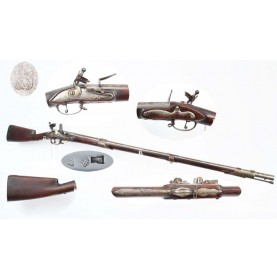 American Restocked Dutch Infantry Musket - Circa 1700-1730