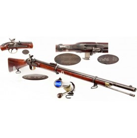 Excellent & Extremely Rare Wilson's Patent Rifle