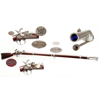 Outstanding Springfield M-1855 Rifle Musket