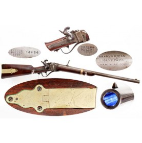 Sharps M-1853 Slant Breech Saddle Ring Carbine