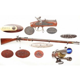 Confederate Marked & Numbered P-1853 Enfield