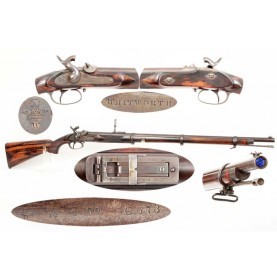 Whitworth Target Rifle - Scarce & Fine
